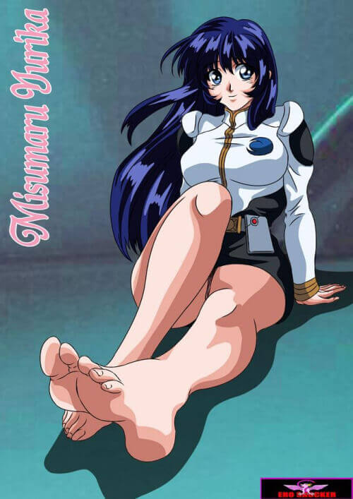 Hentai foot fetish and anime feet art
